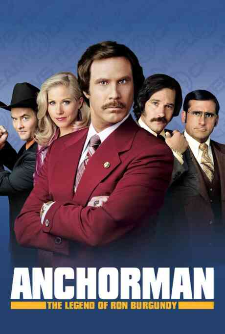 Anchorman: The Legend of Ron Burgundy Poster