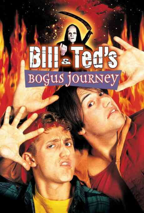 Bill and Ted's Bogus Journey Poster
