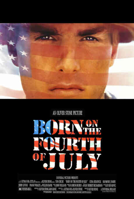 Born on the Fourth of July Poster