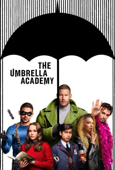 The Umbrella Academy: 101: We Only See Each Other at Weddings and Funerals Poster