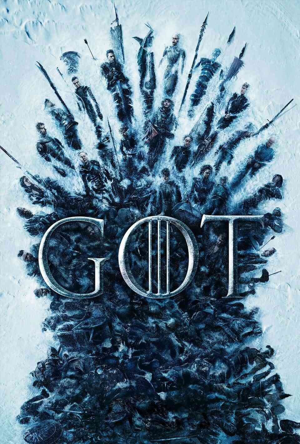 Game of Thrones: 806: The Iron Throne Poster