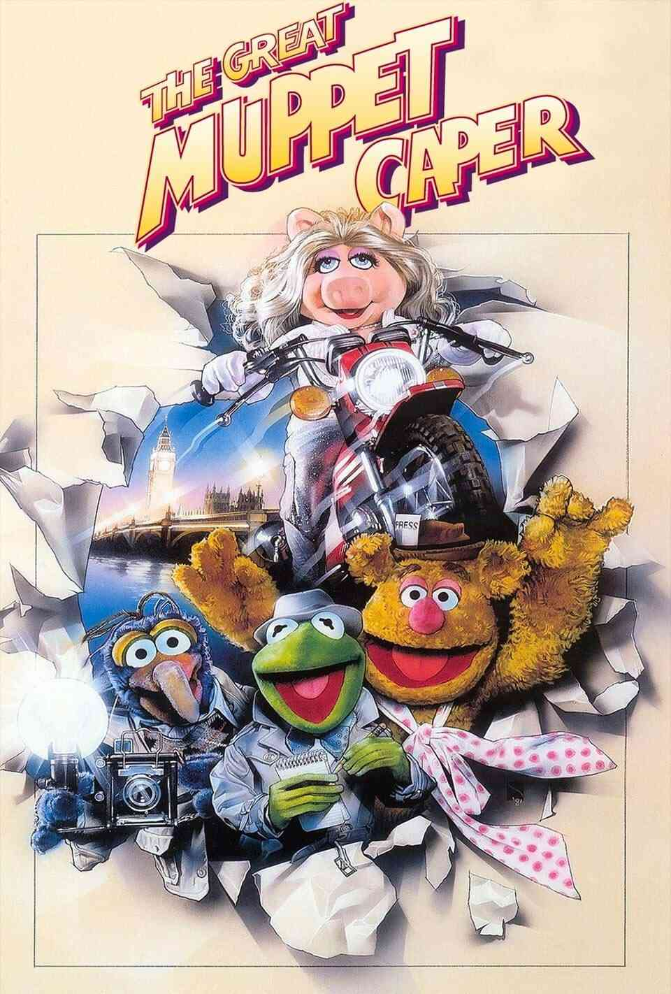 The Great Muppet Caper Poster